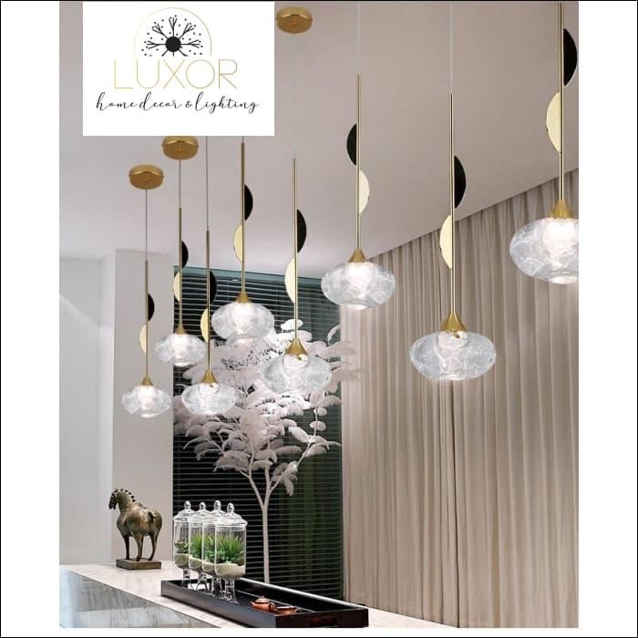pendant lighting Litteni Crystal Pendant - Luxor Home Decor & Lighting