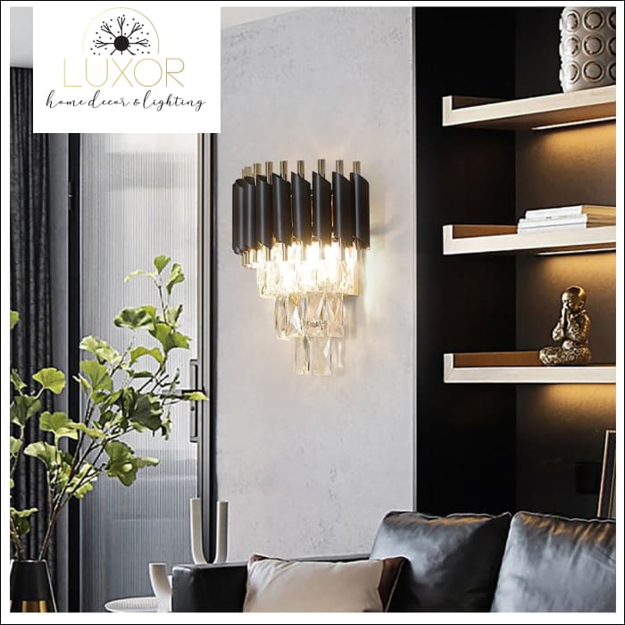 chandeliers Calozzo Crystal Chandelier - Luxor Home Decor & Lighting