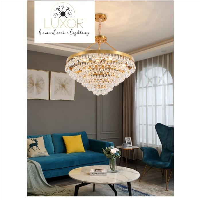 chandeliers Alexia Lux Chandelier - Luxor Home Decor & Lighting