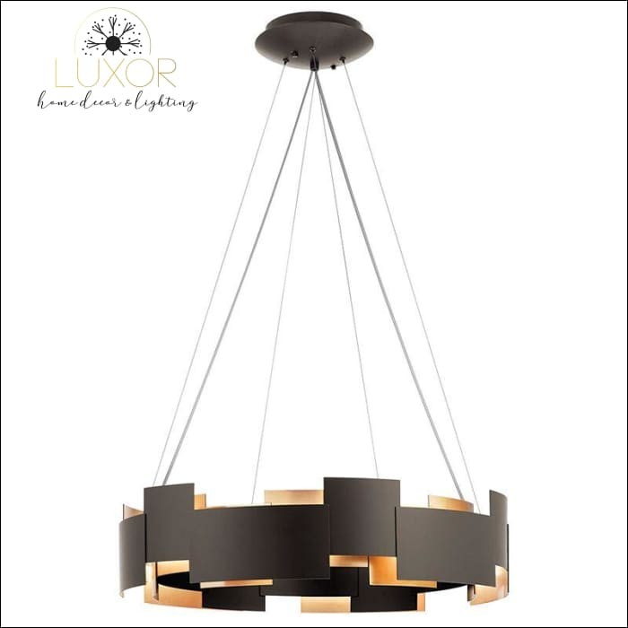 chandeliers Tavese Single LED Drum Chandelier - Luxor Home Decor & Lighting