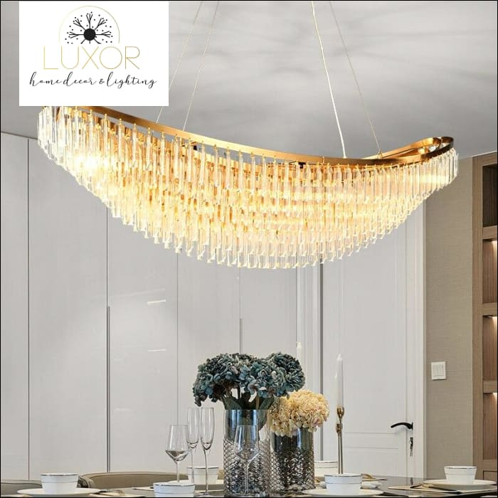chandeliers Colania Lux Crystal Chandelier - Luxor Home Decor & Lighting