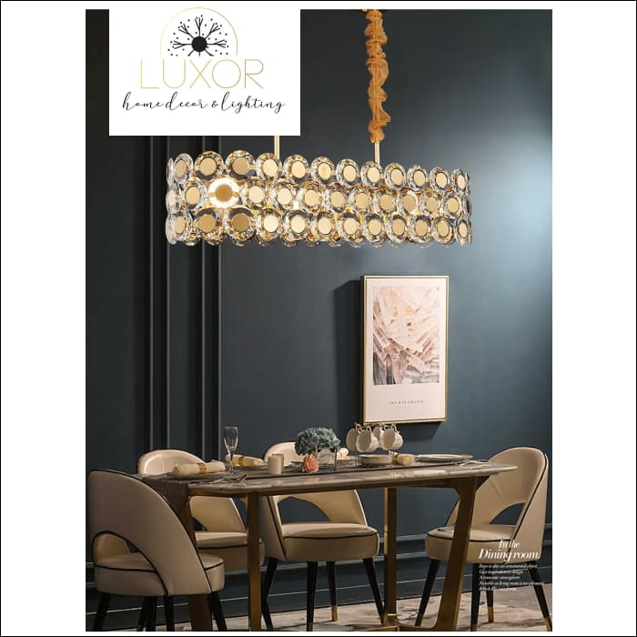 chandeliers Jameston Gold Luxury Crystal Chandelier - Luxor Home Decor & Lighting