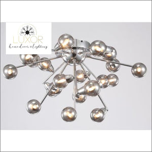 chandeliers Raindrop Glass Pendant - Luxor Home Decor & Lighting