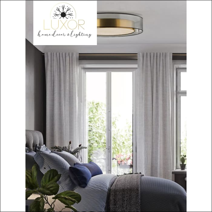 ceiling Finster Glass Ceiling/Pendant Light - Luxor Home Decor & Lighting