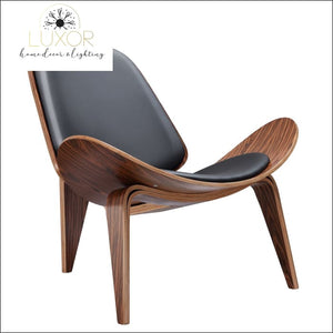 furniture Hansley Rosewood Shell Chair - Luxor Home Decor & Lighting