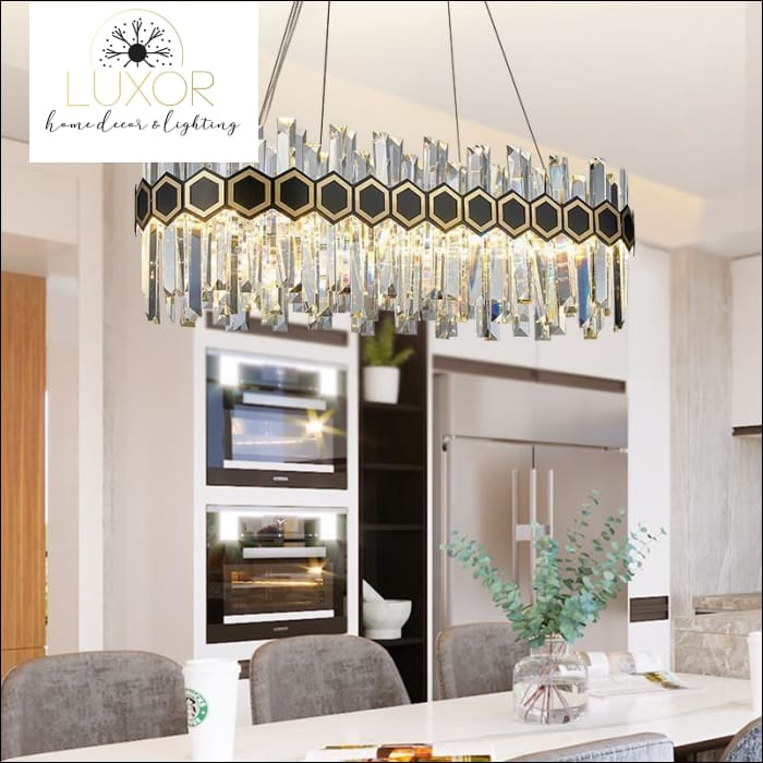 chandeliers Arias Crystal Chandelier - Luxor Home Decor & Lighting