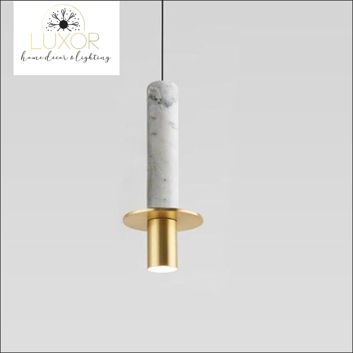 Marble Elite Pendant Light - Marble White - pendant lighting