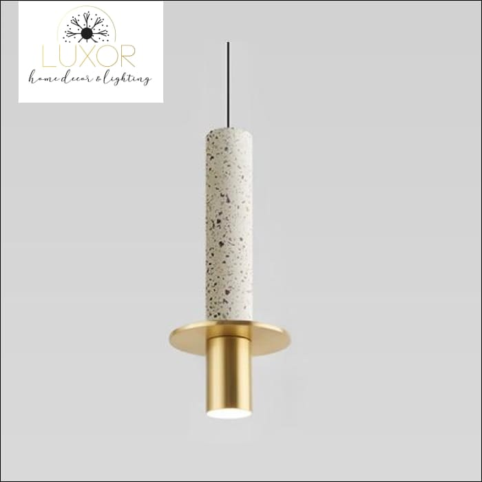 Marble Elite Pendant Light - Terrazzo White - pendant lighting