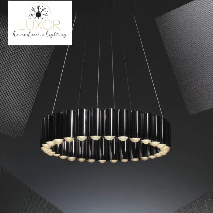Mudani Modern Pendant - Bright Black / 60CM - pendant lighting