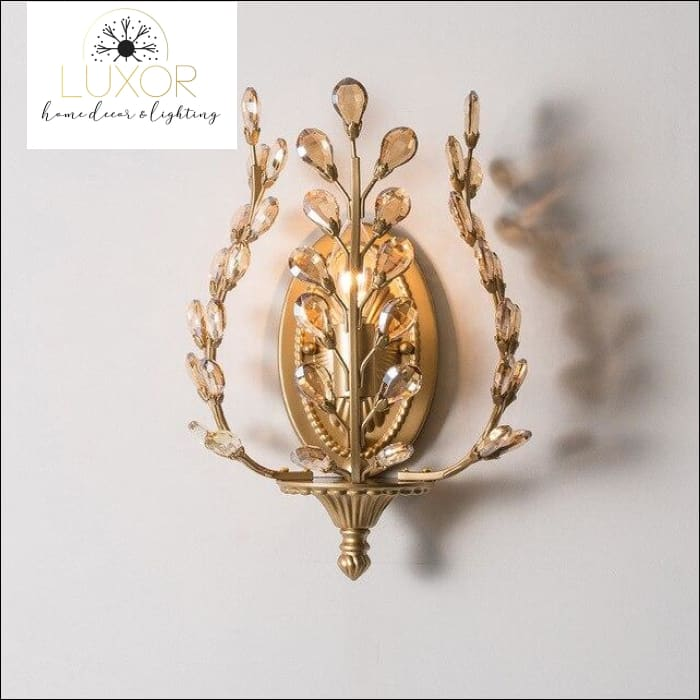 pendant lighting Golden Goddess Wall Sconce - Luxor Home Decor & Lighting