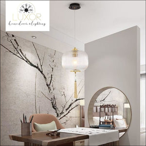 pendant lights Scarletta Tassel Pendant - Luxor Home Decor & Lighting