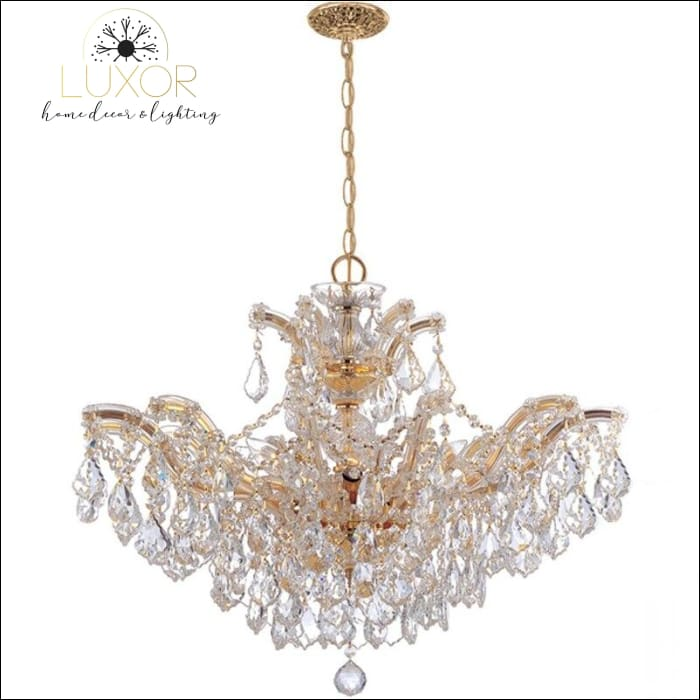 chandeliers Maria Theresa Crystal Chandelier - Luxor Home Decor & Lighting