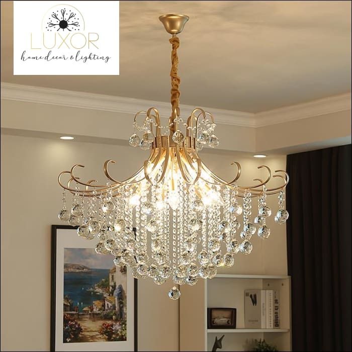 pendant lighting Ashley Crystal Pendant - Luxor Home Decor & Lighting