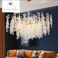 chandeliers Tresini Ivy Chandelier - Luxor Home Decor & Lighting