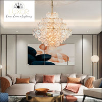 chandeliers Fungo Luxury Glass Chandelier - Luxor Home Decor & Lighting
