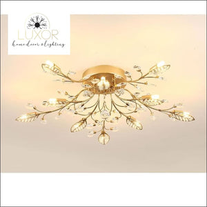 Alexa Luxury Crystal Ceiling Lamp - ceiling lights