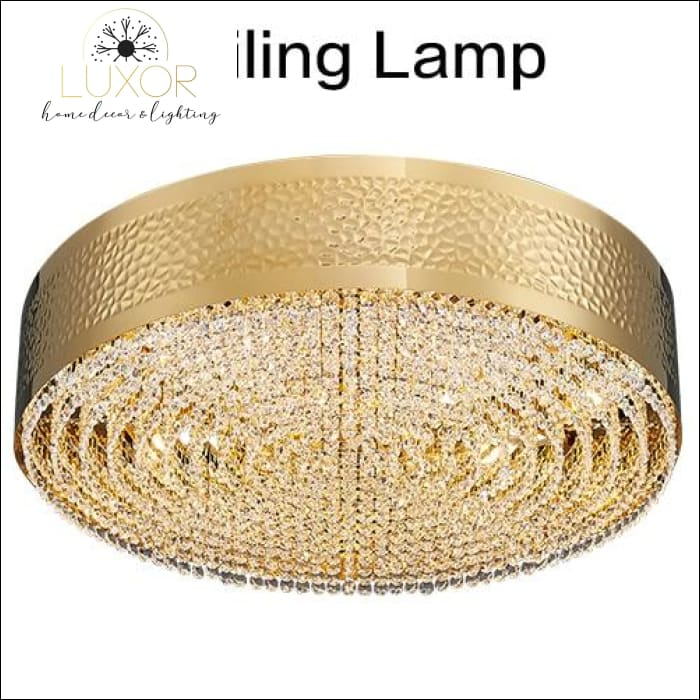 Starise Crystal Chandelier - Ceiling light / Dia100H13cm18lights / Warm light 3000K - chandeliers