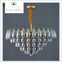 chandeliers Globina Round Lux Chandelier - Luxor Home Decor & Lighting