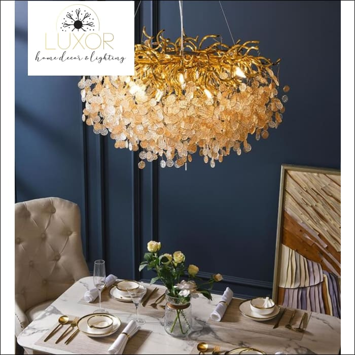 French Riviera Crystal Chandelier - chandelier