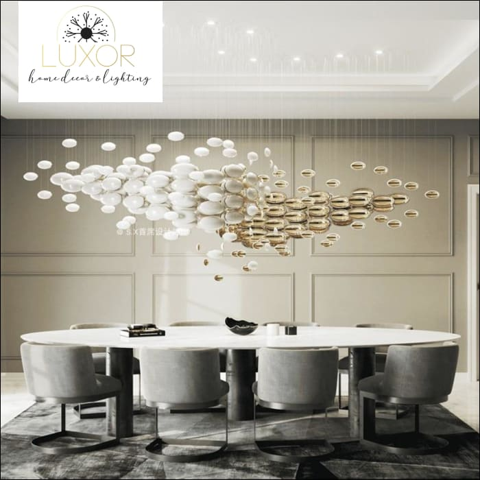 Nordic Egg Saucer Pendant Light - pendant lighting