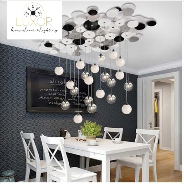 Bubble Glass Pendant Light - pendant lighting