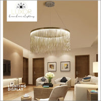 chandeliers Daxini Tassel Chandelier - Luxor Home Decor & Lighting
