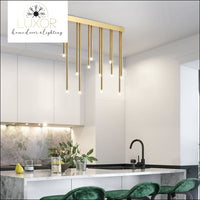 pendant lighting Goliana Gold Pendant Light - Luxor Home Decor & Lighting