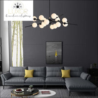 chandeliers Pendula Glass Ball Modern Chandelier - Luxor Home Decor & Lighting