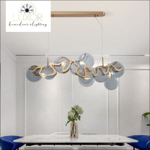 pendant lighting Clarin Modern Hanging Lamp - Luxor Home Decor & Lighting
