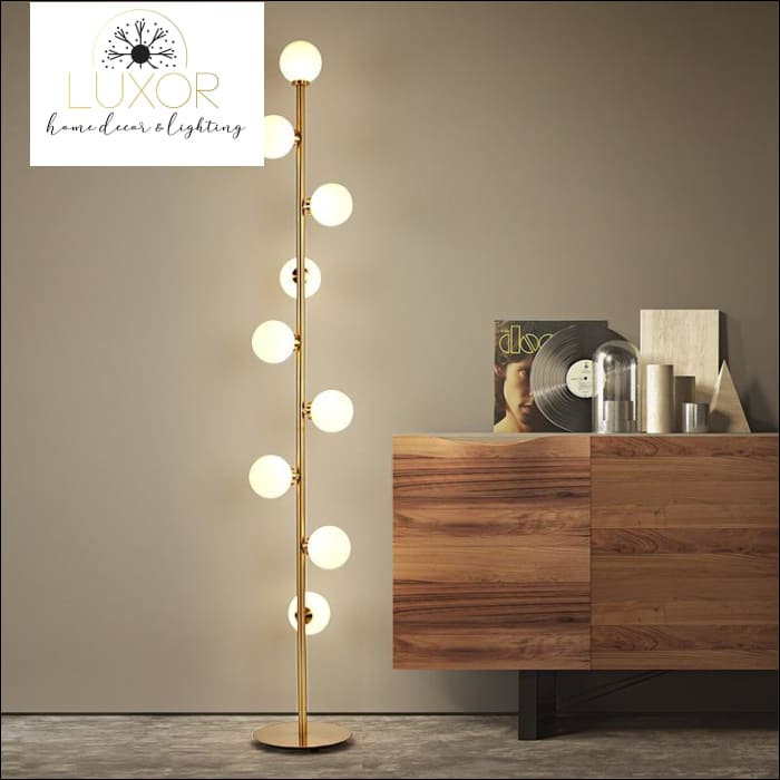 lighting Lordi Vintage Floor Lamp - Luxor Home Decor & Lighting