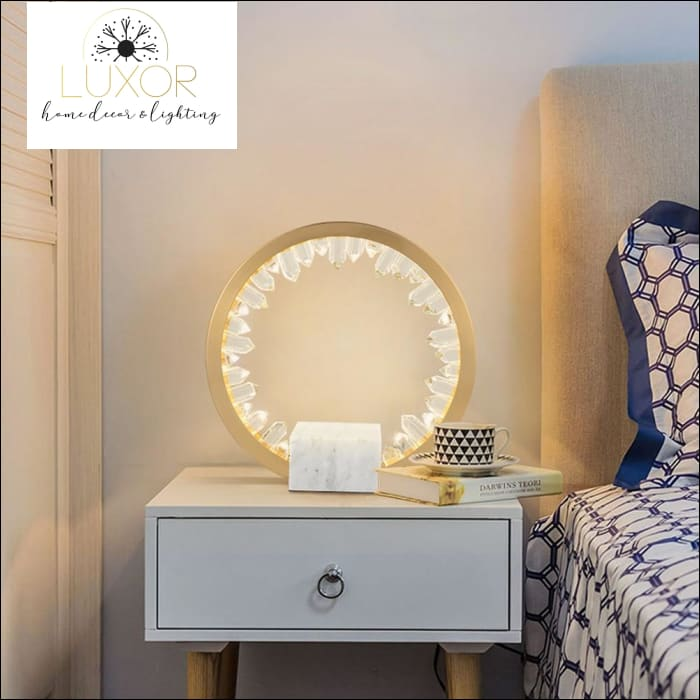 lighting Eclipse Table Lamp - Luxor Home Decor & Lighting