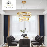 chandelier Indiny Crystal Chandelier - Luxor Home Decor & Lighting