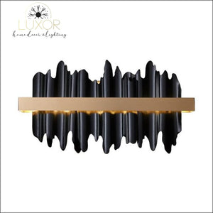 Excalibur Collection - Wall Sconce - Black / warm light(3000K) - wall lighting