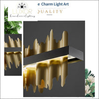 chandeliers Excalibur Collection - Rectangle Chandelier - Luxor Home Decor & Lighting