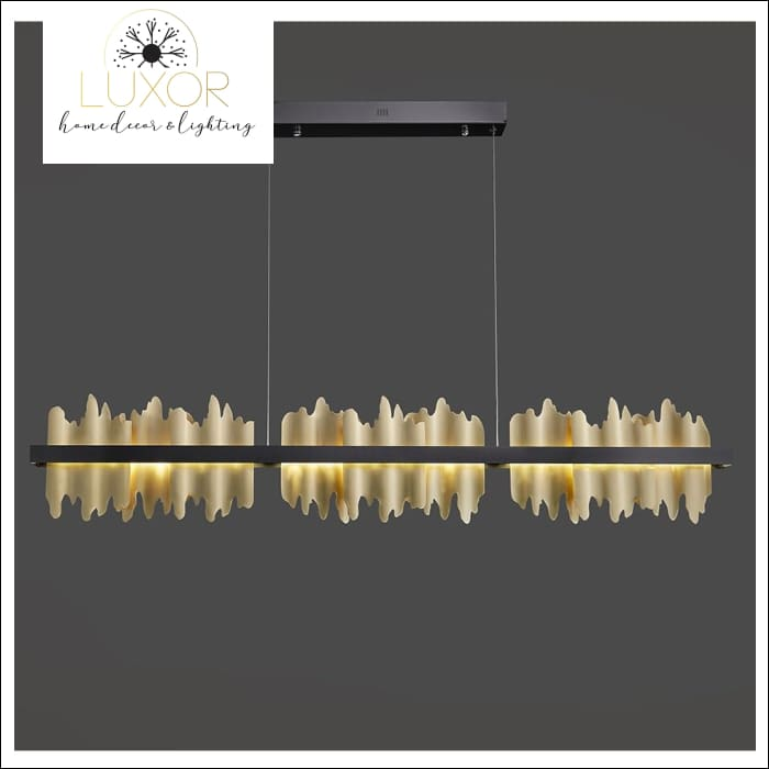 Excalibur Collection - Rectangle Chandelier - chandeliers