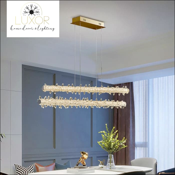 Xilibir Crystal Pendant Hanging Light - pendant lighting
