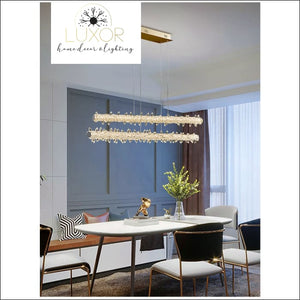 pendant lighting Xilibir Crystal Pendant Hanging Light - Luxor Home Decor & Lighting