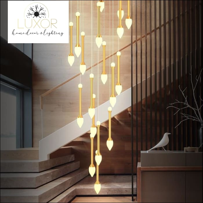 Vixini Staircase Chandelier - chandeliers