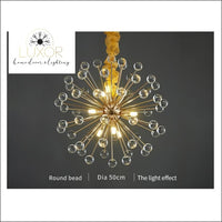 Royalton Round Sparkle Pendant - pendant lighting