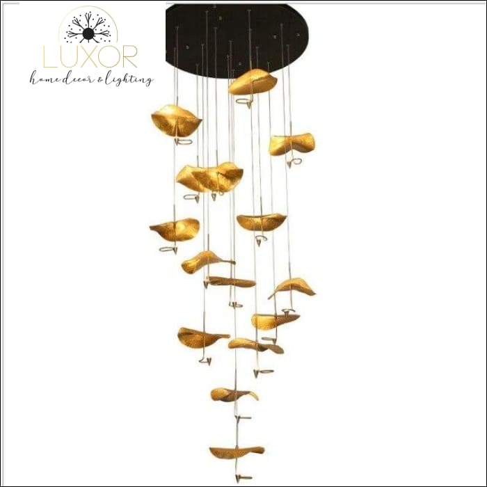 chandeliers Lotus Leaf Chandelier - Luxor Home Decor & Lighting