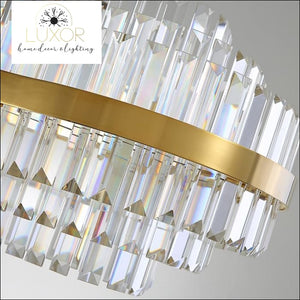 chandeliers Bruno Crystal Chandelier - Luxor Home Decor & Lighting