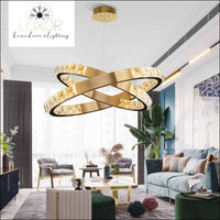 chandelier Alana Crystal Chandelier Collection - Luxor Home Decor & Lighting