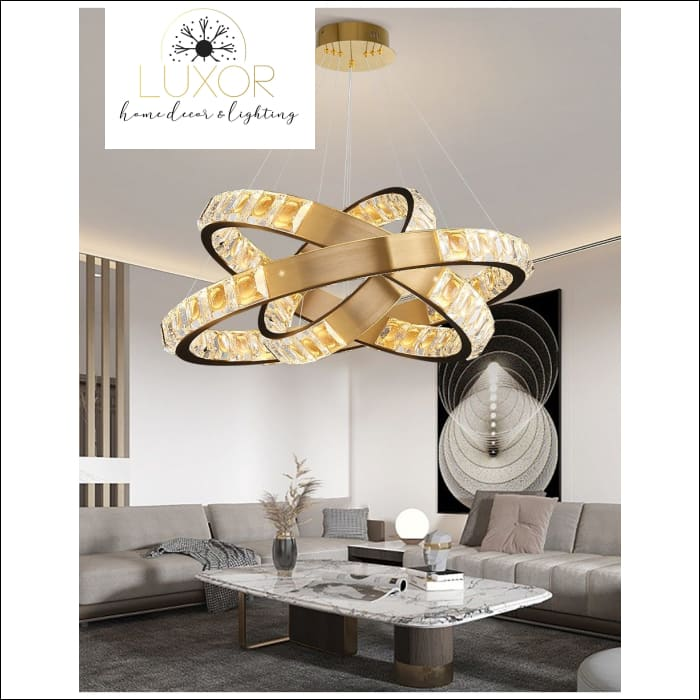 Alana Crystal Chandelier Collection - chandelier