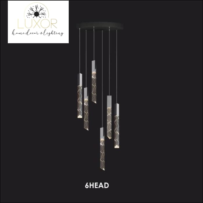chandeliers Duplex Cascade Chandelier - Luxor Home Decor & Lighting