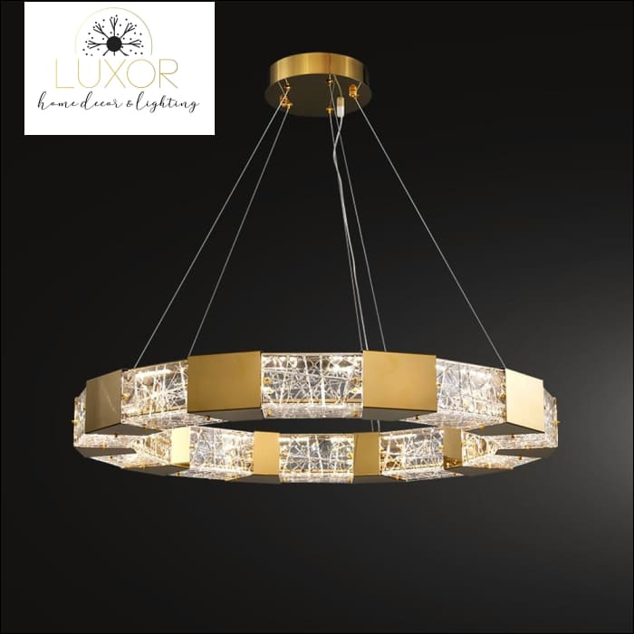 Standford Crystal Chandelier - chandeliers