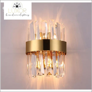 wall lighting Yuliani Crystal Wall Sconce - Luxor Home Decor & Lighting