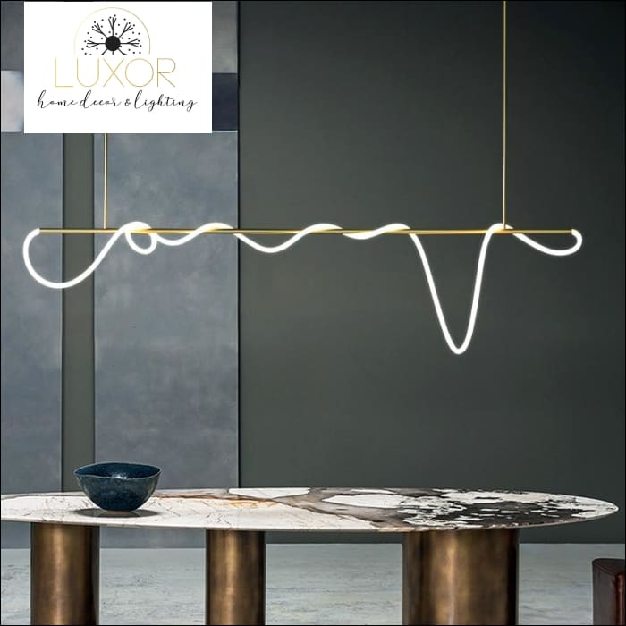 chandeleir Betriz Linear Suspension Collection - Luxor Home Decor & Lighting