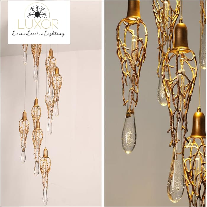Dubai Gold Luxury Chandelier - chandelier