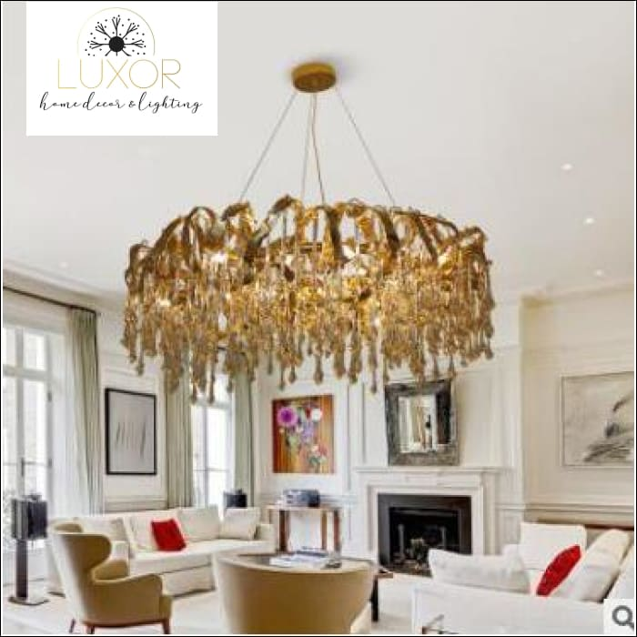 chandeliers Queenly Royalty Chandelier - Luxor Home Decor & Lighting