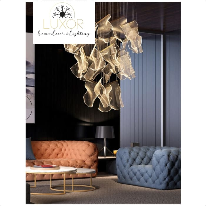 chandelier DECORO Decorative Mesh Chandelier - Luxor Home Decor & Lighting
